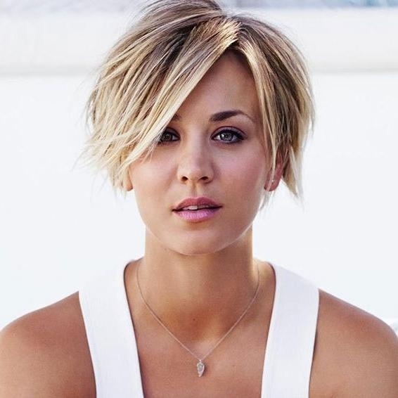 The 25+ Best Kaley Cuoco Ideas On Pinterest | No Layer Hairstyle Within Kaley Cuoco Short Hairstyles (View 20 of 20)