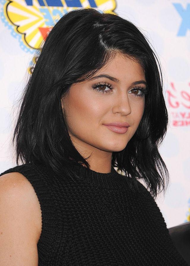 The 25+ Best Kylie Jenner Haircut Ideas On Pinterest | Kylie Regarding Kylie Jenner Short Haircuts (View 19 of 20)