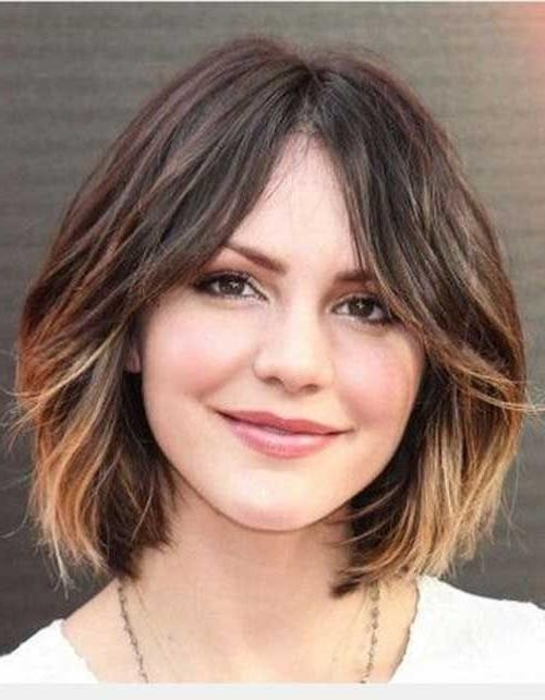 The 25+ Best Middle Part Bob Ideas On Pinterest | Bob With Middle In Center Part Short Hairstyles (View 19 of 20)