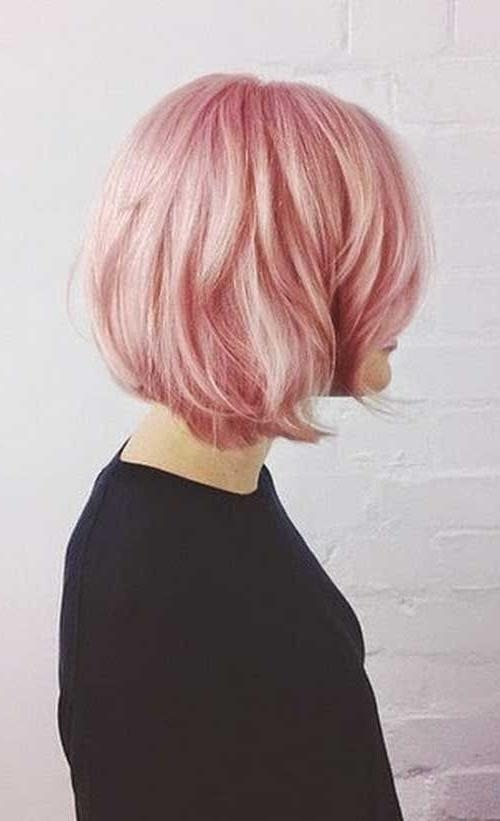 The 25+ Best Pink Short Hair Ideas On Pinterest | Short Lilac Hair Regarding Pink Short Hairstyles (View 18 of 20)