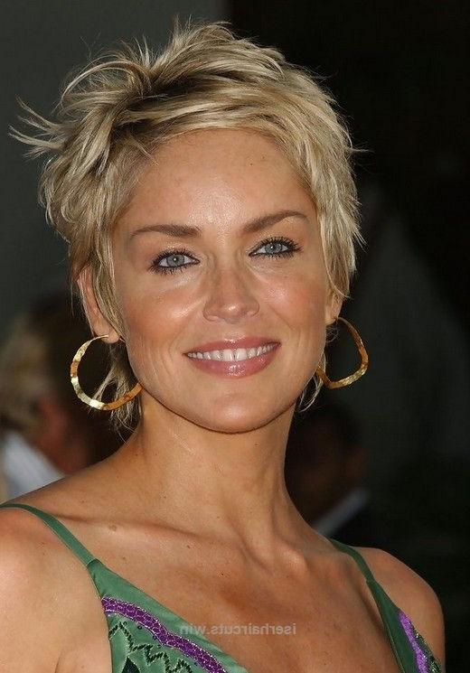 The 25+ Best Sharon Stone Hairstyles Ideas On Pinterest | Sharon Throughout Sharon Stone Short Haircuts (View 10 of 20)