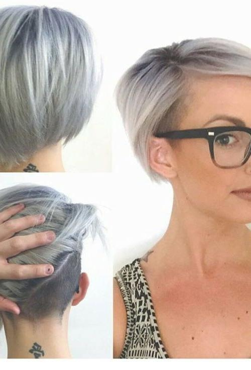 The 25+ Best Short Asymmetrical Hairstyles Ideas On Pinterest With Asymmetric Short Haircuts (View 17 of 20)