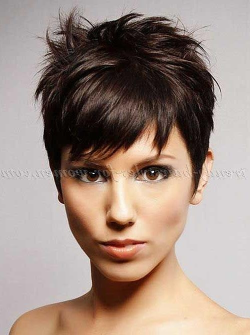 The 25+ Best Short Funky Hairstyles Ideas On Pinterest | Funky Within Cropped Short Hairstyles (View 16 of 20)