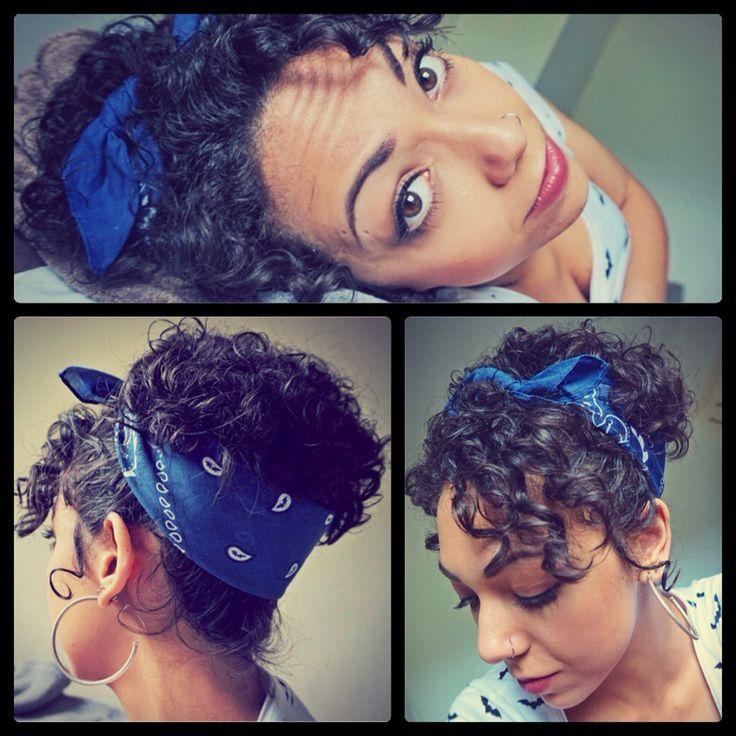 The 25+ Best Short Hair Bandana Ideas On Pinterest | Rockabilly Within Short Hairstyles With Bandanas (View 19 of 20)