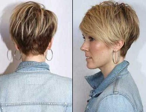 The 25+ Best Short Hair Cuts For Women Over 40 Ideas On Pinterest Within Short Haircuts For Women Over  (View 20 of 20)