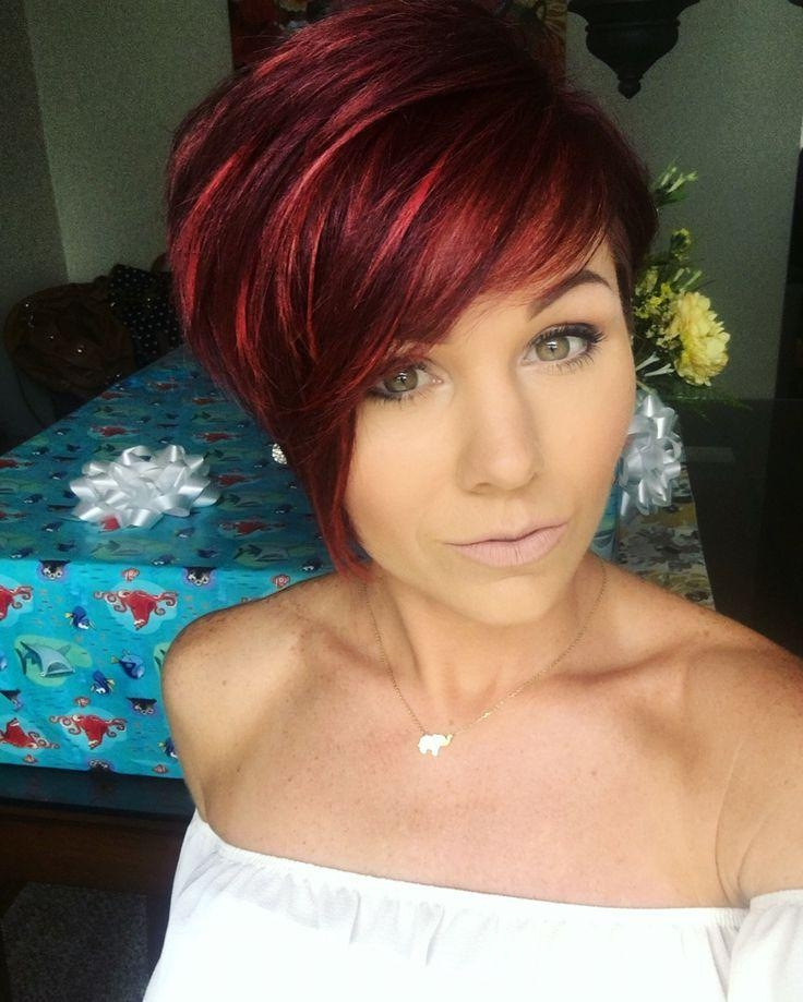 The 25+ Best Short Red Hair Ideas On Pinterest | Short Auburn Hair Throughout Red Hair Short Haircuts (View 20 of 20)