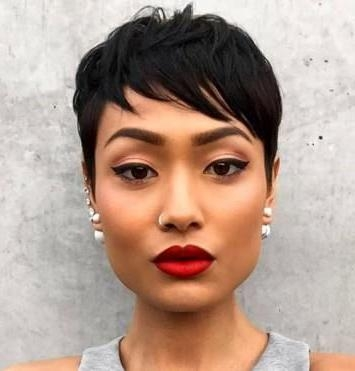 The 25+ Best Short Relaxed Hairstyles Ideas On Pinterest | Black In Short Haircuts For Relaxed Hair (View 20 of 20)