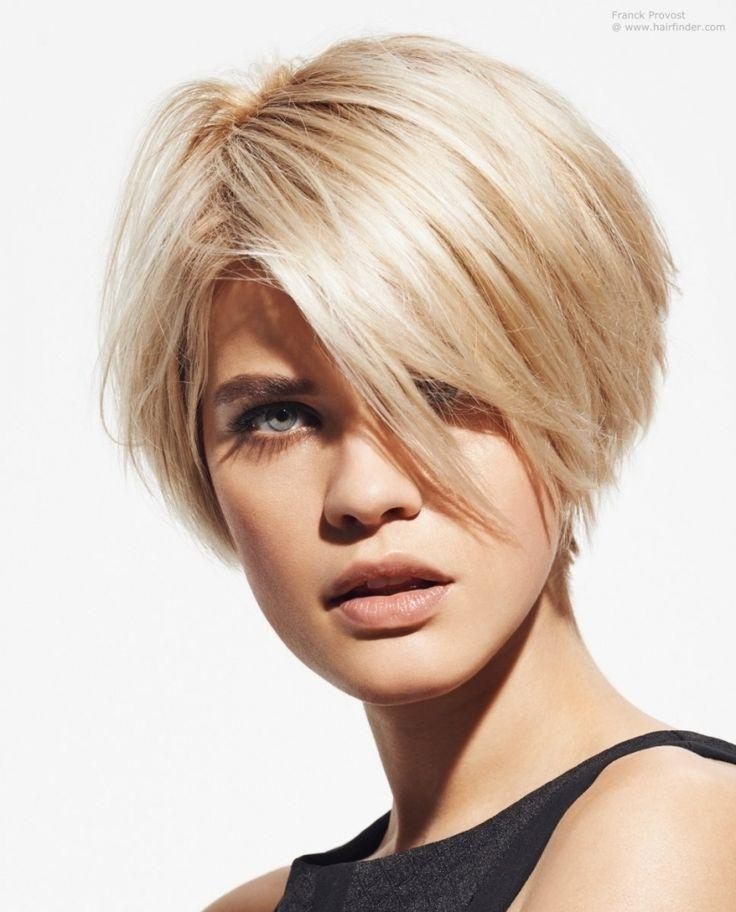The 25+ Best Short Wedge Haircut Ideas On Pinterest | Wedge With Regard To Wedge Short Haircuts (View 7 of 20)