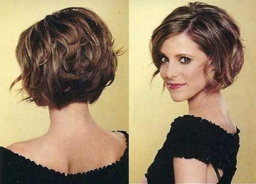 The 25+ Best Thick Wavy Haircuts Ideas On Pinterest | Short Thick Throughout Short Hairstyles Wavy Thick Hair (View 20 of 20)