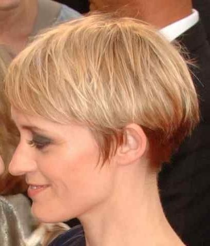 The 25+ Best Wedge Haircut Ideas On Pinterest   Short Bob Within Wedge Short Haircuts (View 17 of 20)