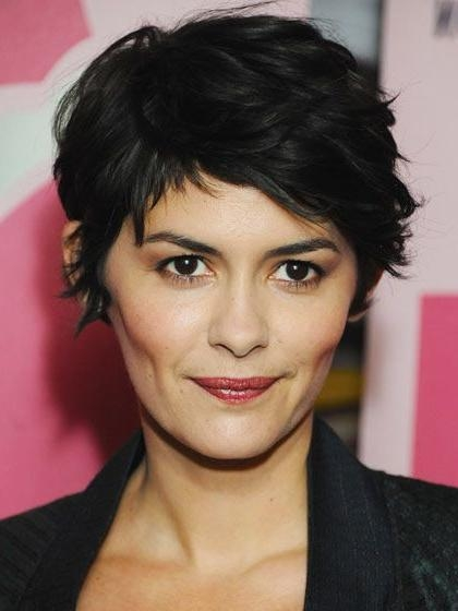 The 6 Most Stylish Short Haircuts | Audrey Tautou, Short Haircuts With Regard To Short Haircuts For High Cheekbones (View 2 of 20)