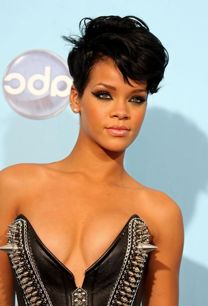 Photo Gallery Of Short Haircuts For African American Women With