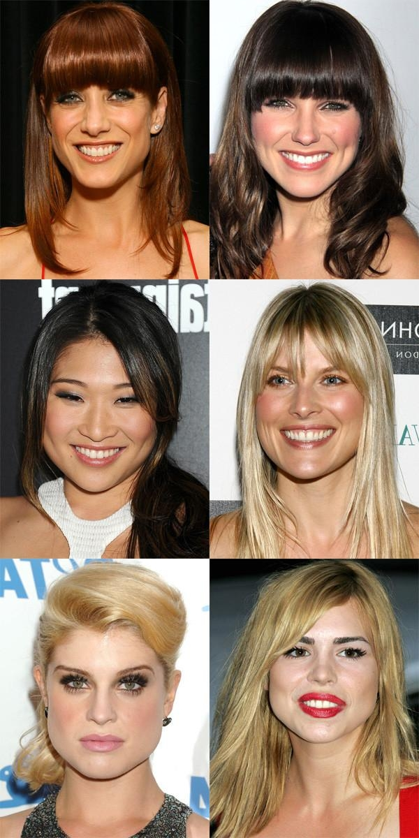 The Best (And Worst) Bangs For Pear Shaped Faces – Beautyeditor Inside Short Hairstyles For Pear Shaped Faces (View 18 of 20)