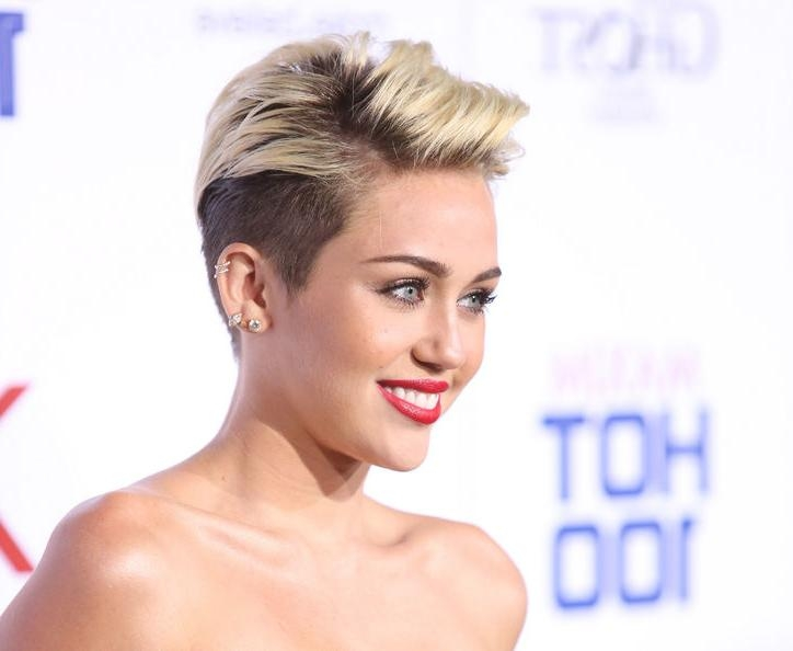 The Best Miley Cyrus Pixie Hair Cuts – Hair World Magazine With Regard To Miley Cyrus Short Haircuts (View 20 of 20)