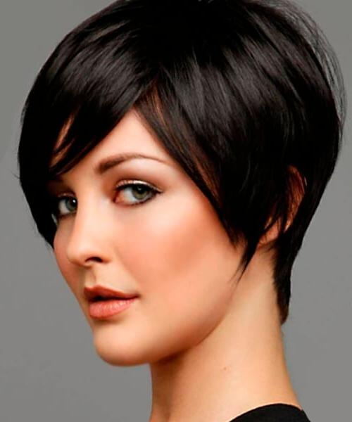 The Right Hairstyles For Long, Oval And Square Shaped Faces For Short Hairstyles For Thick Hair Long Face (View 17 of 20)