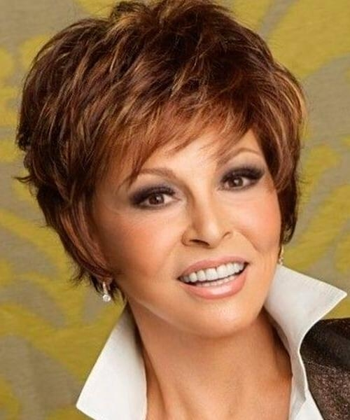 Photo Gallery Of Short Hairstyles For Oval Face Thick Hair Viewing
