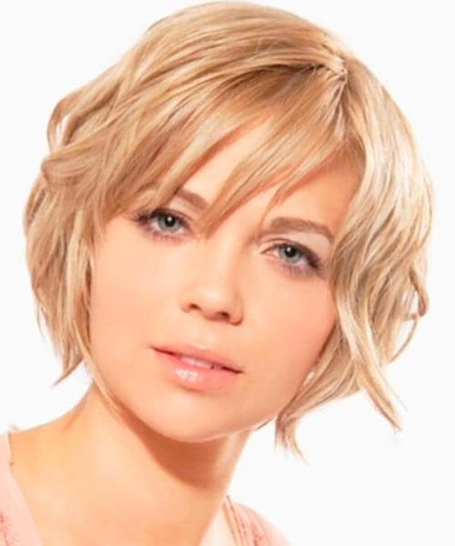 The Right Hairstyles For Long, Oval And Square Shaped Faces Within Short Hairstyles For Oval Face Thick Hair (View 17 of 20)