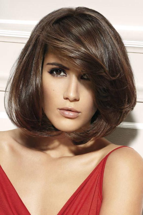 20 Best Ideas Of Short Haircuts For Big Foreheads