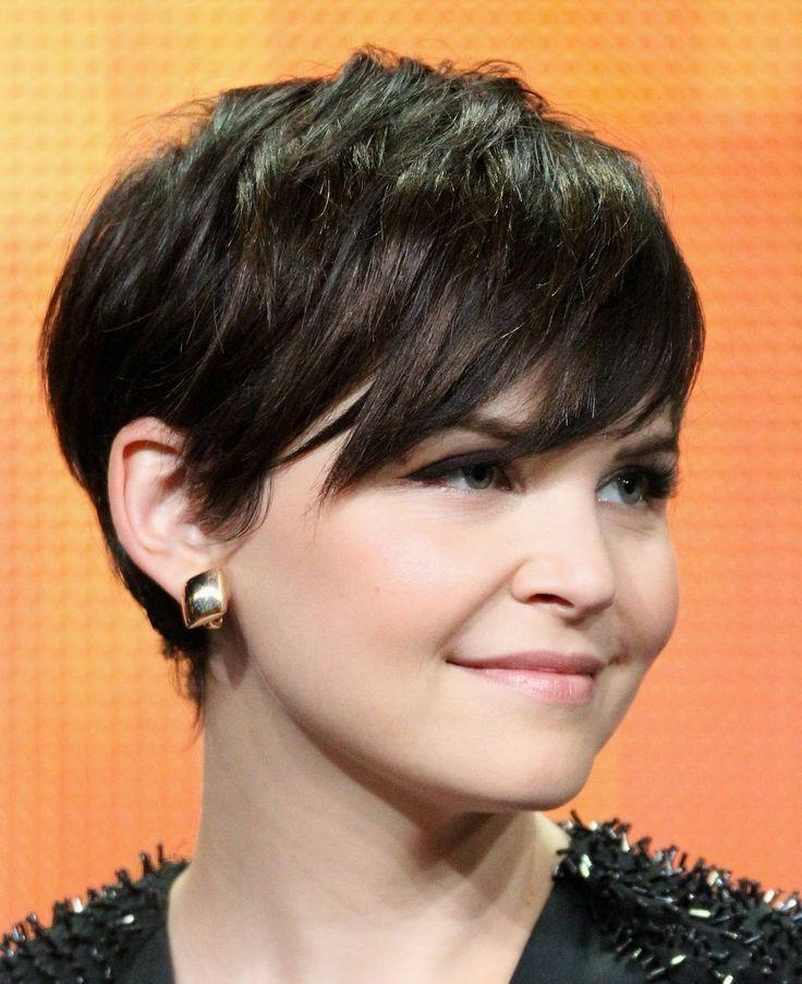 Top 10 Short Haircuts For Round Faces – Popular Haircuts Regarding Short Haircuts With Bangs For Round Faces (View 19 of 20)