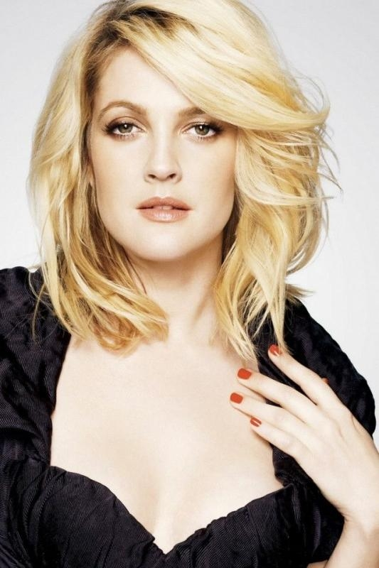 Top 17 Drew Barrymore Hairstyles & Haircuts Only For You ! Inside Drew Barrymore Short Hairstyles (View 12 of 20)