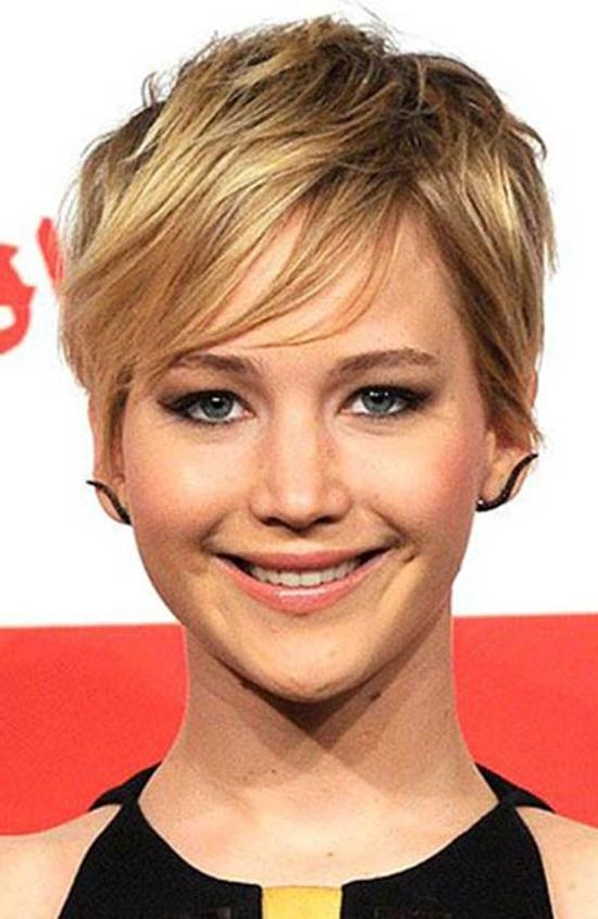 Top 18 Jennifer Lawrence Hairstyles & Haircuts Inspire You Try It Inside Jennifer Lawrence Short Hairstyles (View 17 of 20)
