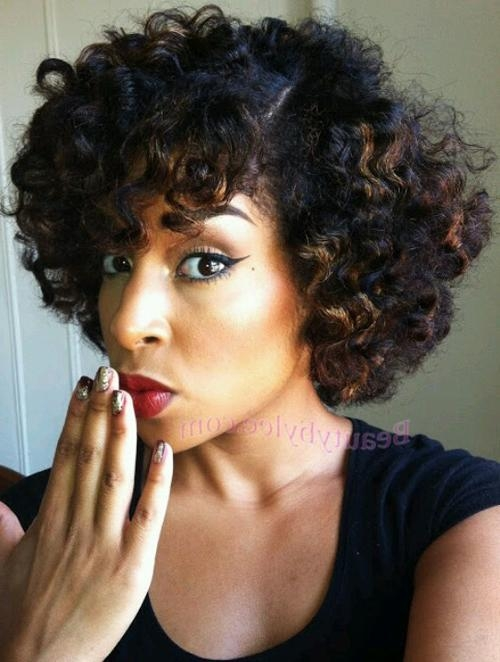 Top 25 Short Curly Hairstyles For Black Women Throughout Curly Short Hairstyles For Black Women (View 20 of 20)