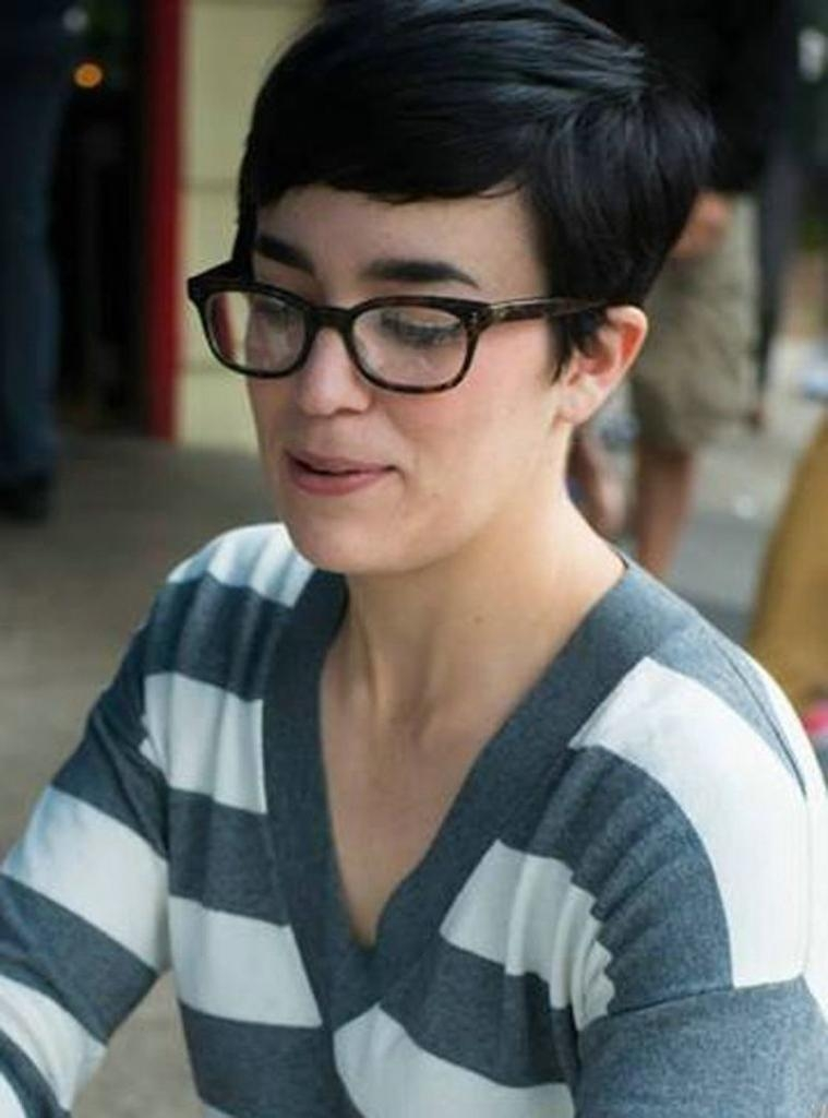 Top 30 Hairstyles With Bangs And Glasses, The Perfect Combination Pertaining To Short Haircuts With Bangs And Glasses (View 18 of 20)