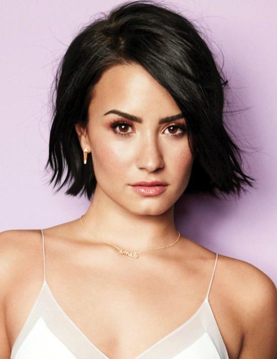 Top 32 Demi Lovato's Hairstyles & Haircut Ideas For You To Try Pertaining To Demi Lovato Short Hairstyles (View 14 of 20)