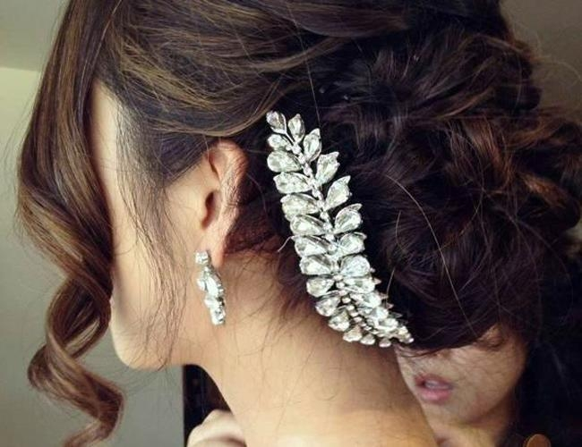Top Wedding Hairstyles For Spring 2014 : Fashion, News – India Today Pertaining To Short Hairstyles For Indian Wedding (View 20 of 20)