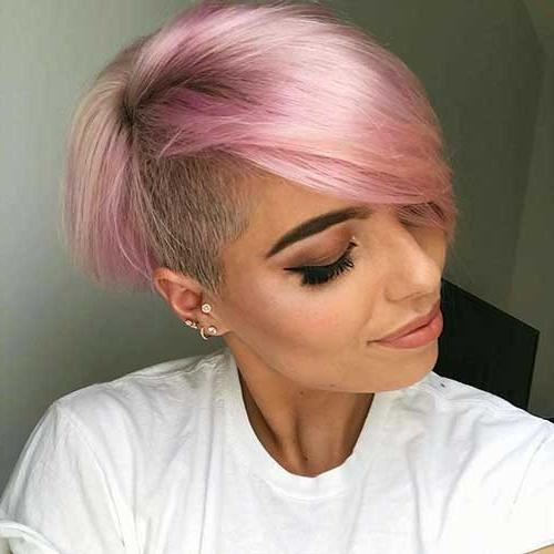 Totally Adorable Pink Colored Short Hairstyles We Love | Short Within Pink Short Haircuts (View 20 of 20)