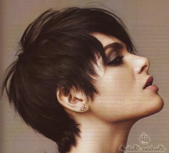Photo Gallery Of Short Hairstyles For Curvy Women Viewing 19 Of 20