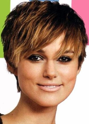 Trendy Short Haircuts | Curvy Fashion And Beauty (View 19 of 20)