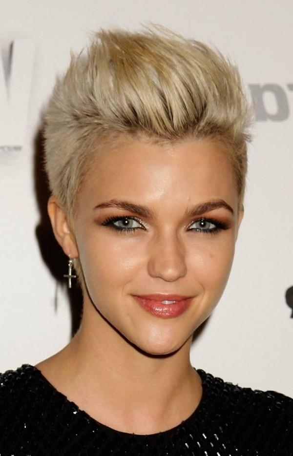 Trendy Short Haircuts Short Hairstyles 2016 2017 Most In Trendy Short Hairstyles For Thin Hair (View 18 of 20)