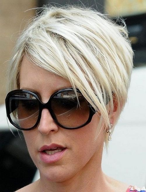 Trendy Short Hairstyles For Fine Hair And Glasses Regarding Trendy Short Hairstyles For Thin Hair (View 19 of 20)