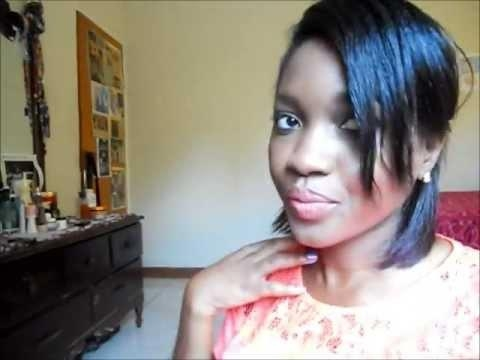 Two Easy Hairstyles For Short Hair (Relaxed) – Youtube Pertaining To Relaxed Short Hairstyles (View 20 of 20)