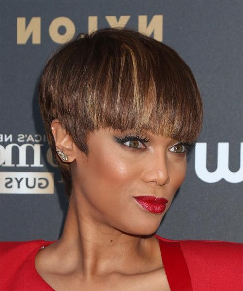 Tyra Banks Hairstyles For 2018 | Celebrity Hairstyles Inside Tyra Banks Short Hairstyles (View 15 of 20)