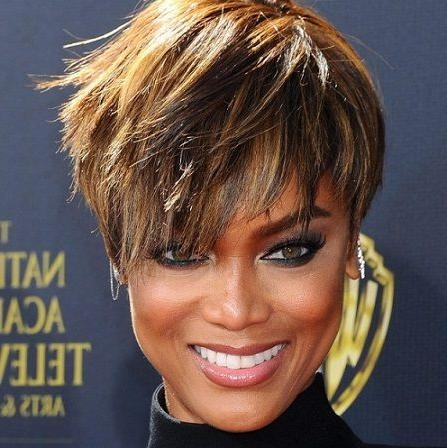 Tyra Banks Short Hair – Google Search | Hair | Pinterest | Pelo Intended For Tyra Banks Short Hairstyles (View 18 of 20)