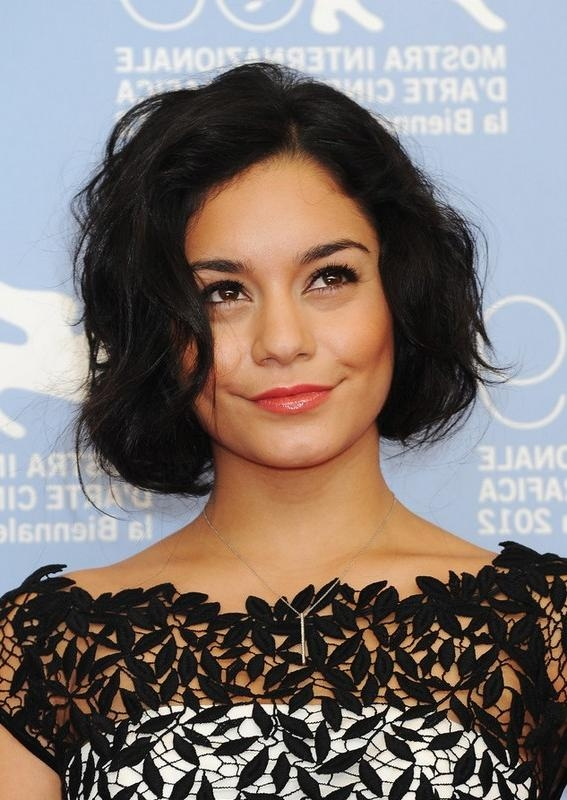 Vanessa Hudgens Hairstyles – Celebrity Latest Hairstyles 2016 For Vanessa Hudgens Short Haircuts (Gallery 1 of 20)