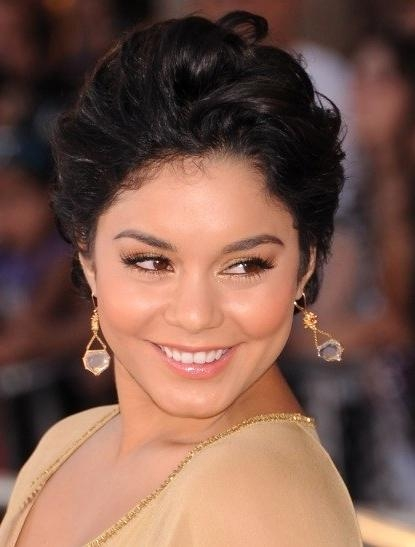 Vanessa Hudgens' Short Hair: She Hates Her New Cut, But Do You Regarding Vanessa Hudgens Short Haircuts (View 13 of 20)