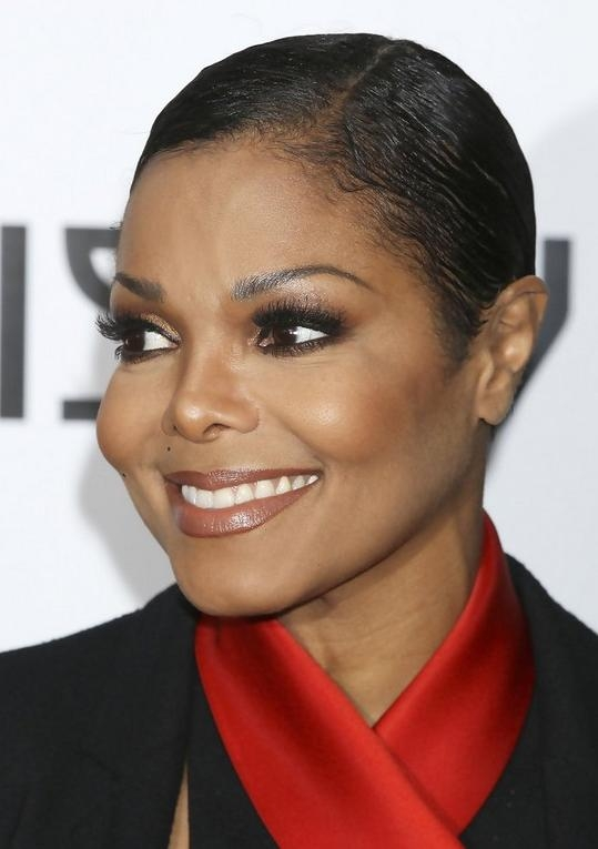 Very Short Haircut For Black Women – Janet Jackson Haircut Inside Short Short Haircuts For Black Women (View 19 of 20)