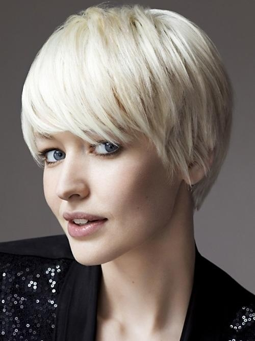 Very Short Haircuts With Bangs For Women | Short Hairstyles 2016 Throughout Short Hairstyles Covering Ears (Gallery 14 of 20)