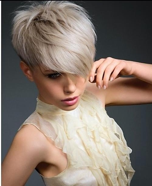 Very Short Haircuts With Bangs For Women | Short Hairstyles 2016 With Ladies Short Hairstyles With Fringe (Gallery 7 of 20)