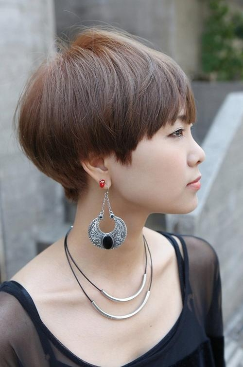 Very Short Haircuts With Bangs For Women | Short Hairstyles 2016 With Regard To Short Haircuts With Full Bangs (Gallery 14 of 20)