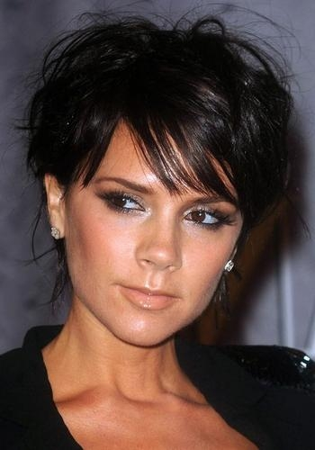 Victoria Beckham Hair Styles Over The Years Inside Posh Spice Short Hairstyles (View 19 of 20)