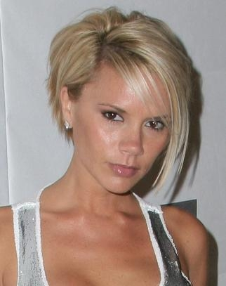 Victoria Beckham Haircut – Celebrity Inspirations For Wedding With Posh Spice Short Hairstyles (Gallery 5 of 20)