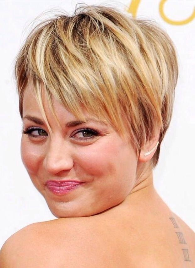 Wavy Hairstyles For Round Faces Short Hairstyles For Round Faces Pertaining To Short Hairstyles For A Round Face (View 20 of 20)