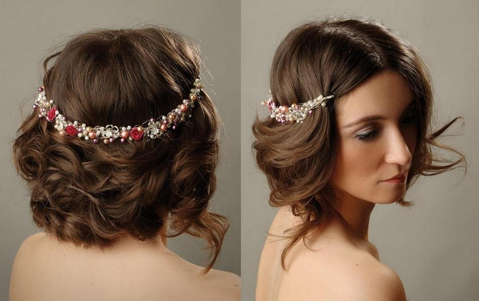 Wedding Hairstyles Ideas: Side Bangs Straight Bob Short Hairstyles In Short Hairstyles For Weddings For Bridesmaids (View 20 of 20)