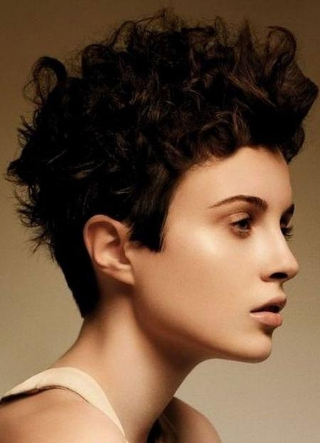 What To Expect When You Cut Curly Hair Short – Hair World Magazine Inside Short Haircuts For Very Curly Hair (View 20 of 20)