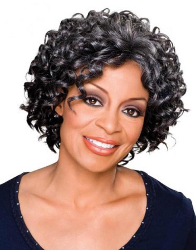 Women Hairstyles : Curly Hairstyles For Short Hair Black Woman The Throughout Short Haircuts For Naturally Curly Black Hair (View 20 of 20)
