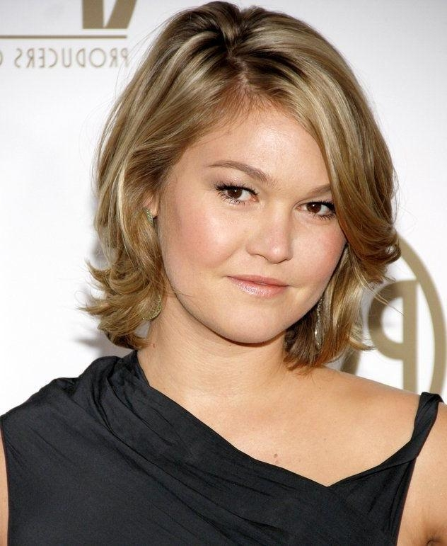 Women Hairstyles : Womens Short Haircuts For Thick Hair 2015 With Short Haircuts For Big Round Face (View 16 of 20)
